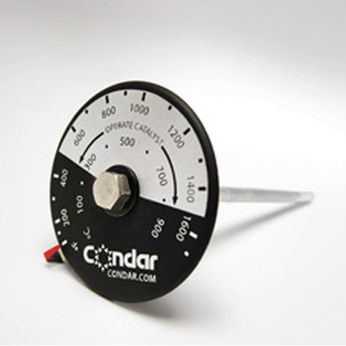 Catalytic Probe Thermometers