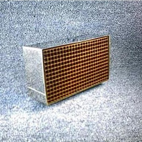 1.875'' x 6.875'' x 2'' with metal band 25 cells per square inch replacement catalytic combustor