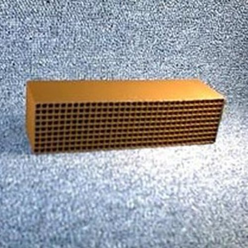 1.875'' x 6.875'' x 2'' with gasket 25 cells per square inch replacement catalytic combustor