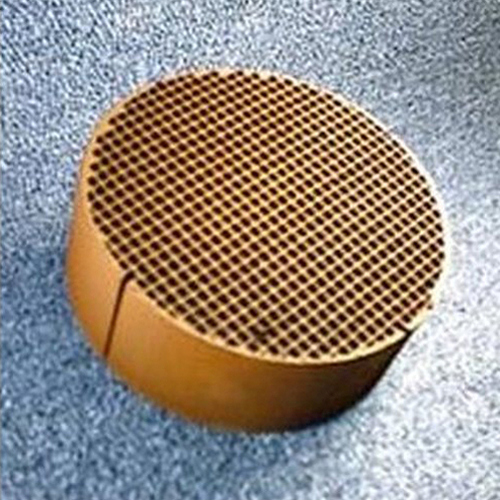 5.66'' round x 2'' 25 cells per square inch replacement catalytic combustor