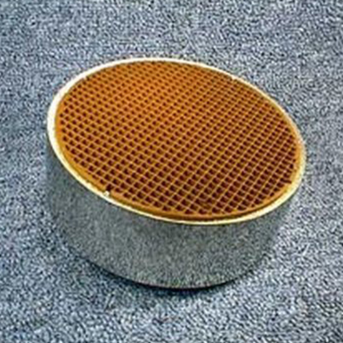 5.66'' round x 2'' with metal band 25 cells per square inch replacement catalytic combustor