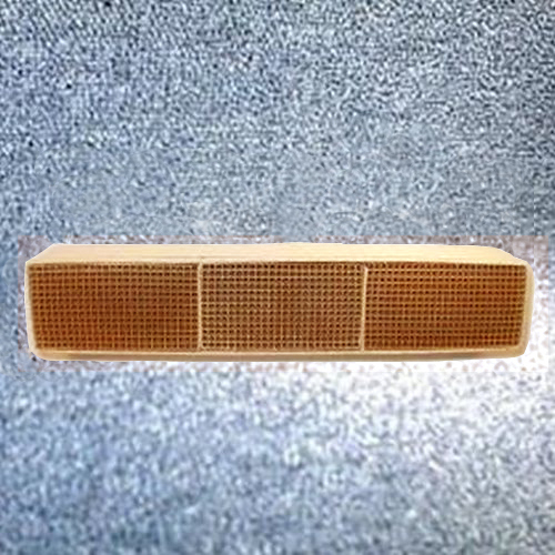 2.625'' x 15'' x 3'' Catalytic combustor with gasket 25 cells per sq. inch