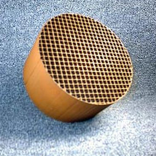 5.66'' round x 3'' 16 cells per square inch replacement catalytic combustor