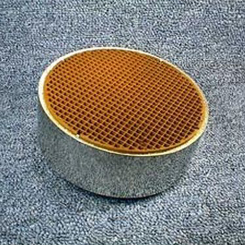 5.66'' round x 3'' with metal band 16 cells per square inch replacement catalytic combustor