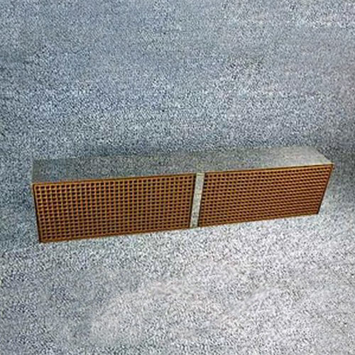 2.54'' x 13'' x 2'' with metal band 16 cells per square inch replacement catalytic combustor