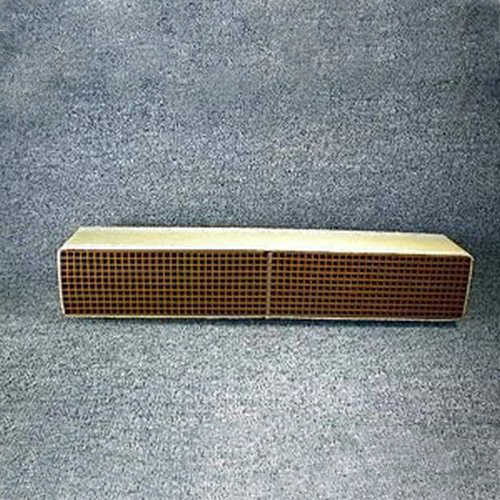 2.5'' x 15'' x 2'' with gasket 16 cells per square inch replacement catalytic combustor