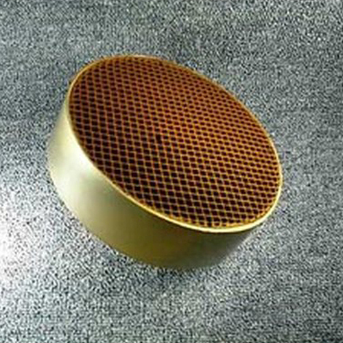 7'' round x 2'' with metal band 16 cells per square inch replacement catalytic combustor