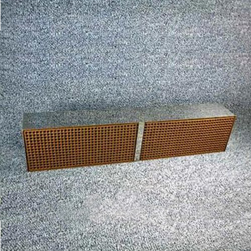 3.5'' x 12'' x 2'' with metal band 16 cells per square inch replacement catalytic combustor