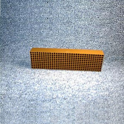 1.875'' x 6.875'' x 1'' 25 cells per square inch replacement catalytic combustor