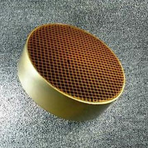 7'' round x 2.5'' with metal band 16 cells per square inch replacement catalytic combustor