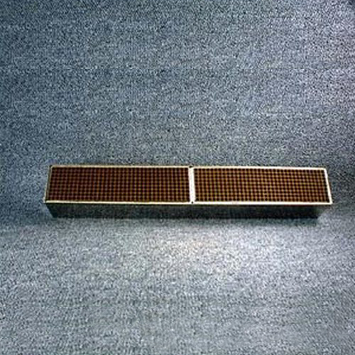 1.875'' x 14'' x 2'' with metal band 25 cells per square inch replacement catalytic combustor