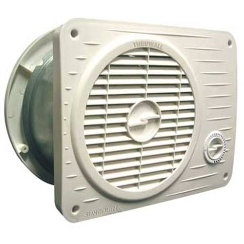 Thruwall Room To Room Fan : Thruwall pro variable speed model room to fan