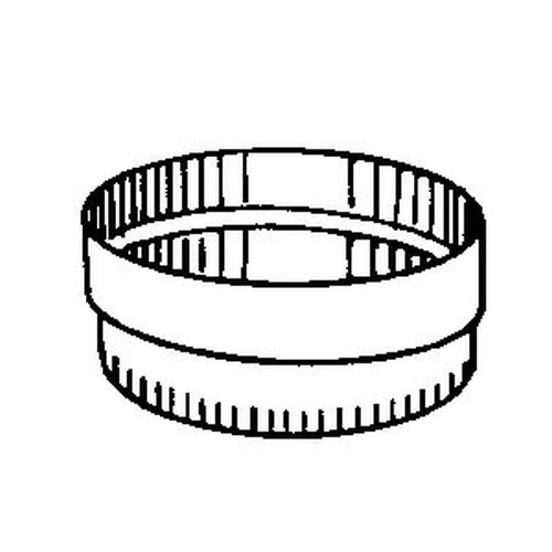 Flexline Flexboot - Oval to Oval (fits #4887) - oval pipe dimension of 4 1/2'' x 11''