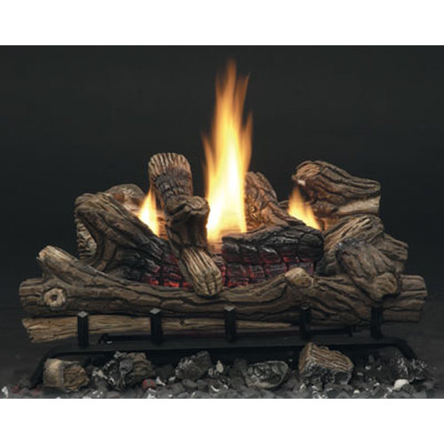 24'' Splendor Glow II Manual Control VF Gas Log Set Natural Gas