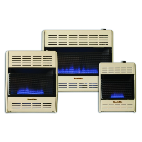 Thermostatic  Blue Flame Vent-Free Heaters