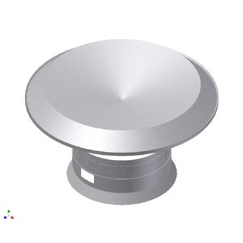 7'' Raincap with Collar/Clamp for HiFlex & VG Liner Systems