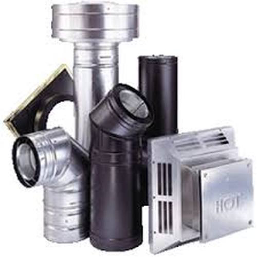 Stove Ventilation Systems : Gas vent systems components m g dura directvent