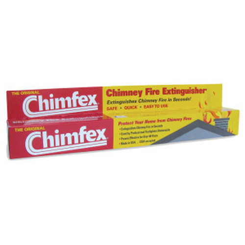 Chimfex® Woodburning Stove & Fireplace Chimney Fire Suppressant
