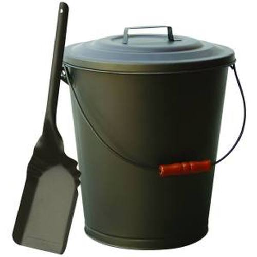 Bronze Finish Ash Container & Shovel Set