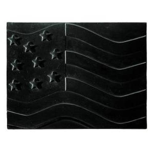 American Flag Cast Iron Fireback 18'' Tall x 24'' Wide