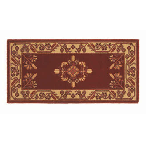 Jardin 44''X 22'' Rectangular Vermillion