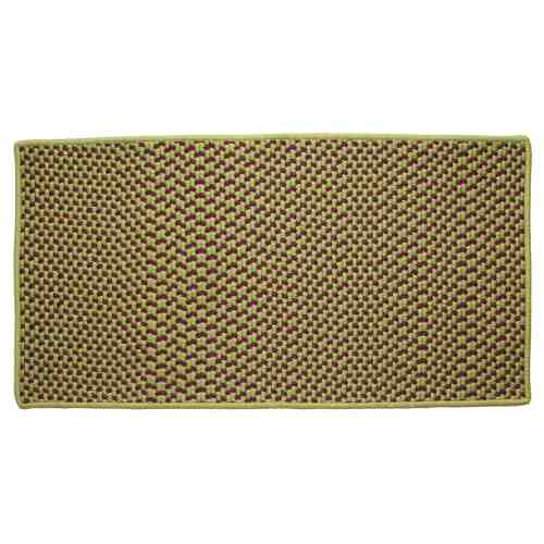 "Sherwood 22"" x 44"" Rectangle Tweed Braided Rug"