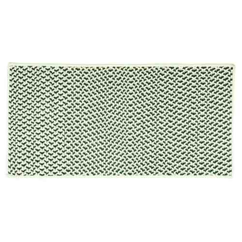 "Shadow 22"" x 44"" Rectangle Tweed Braided Rug"