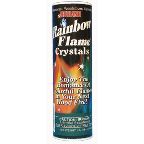 1lb. Rainbow Flame Crystals