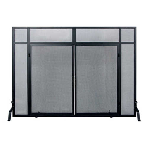 Windowpane Screen with Doors 36'' H x 50'' W