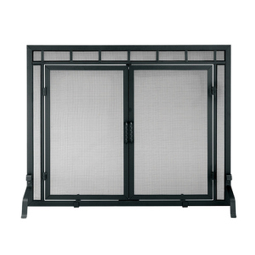 Sidelight Classic Screen with Doors 31'' H x 39'' W