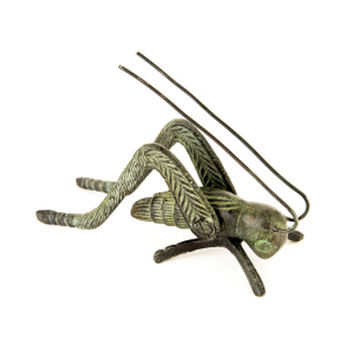 Verdigris Finished Brass Hearth Cricket