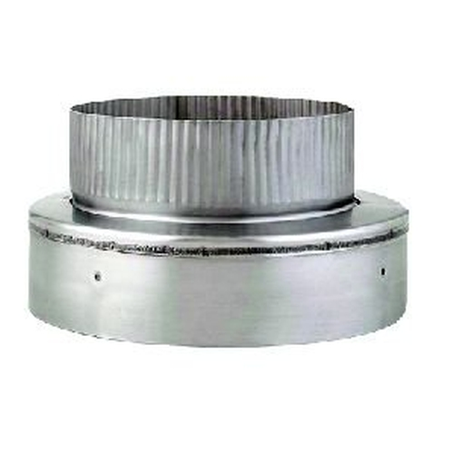 7'' to 6'' 24GA SS Heatfab Plug Reducer