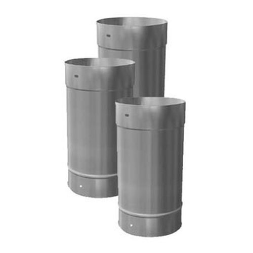7 x 36 homeowners choice 24 gauge stainless steel chimney for Homeowner choice