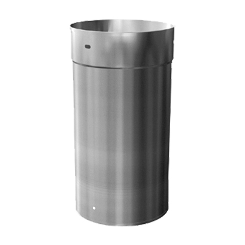 6'' X 12'' Adjustable Homeowners Choice 24 Gauge Stainless Steel Chimney Liner