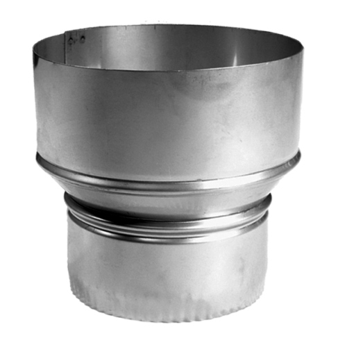 8'' to 6'' Homeowners Choice 24 Gauge Stainless Steel Reducer