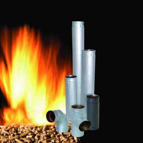 Pellet Stove Chimney & Accessories