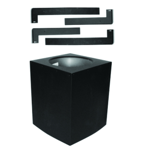 SuperPro 6'' Black Cathedral Ceiling Support
