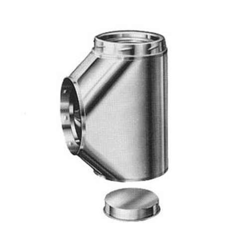 """Metalbestos 10S-6  6/"""" Lenth fo 10/"""" Class A Stainless Pipe"""
