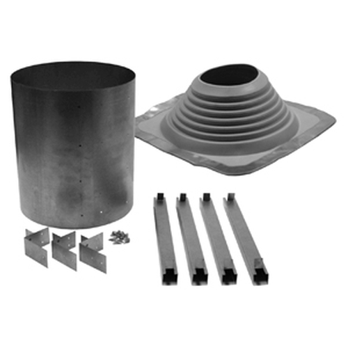 Selkirk Ultra-Temp Universal Metal Roof Flashing with Rubber Boot