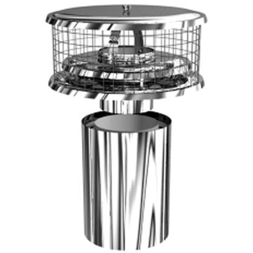 8'' Stainless Steel WeatherShield TDW (For Double and Triple Wall Air Cooled Chimneys)