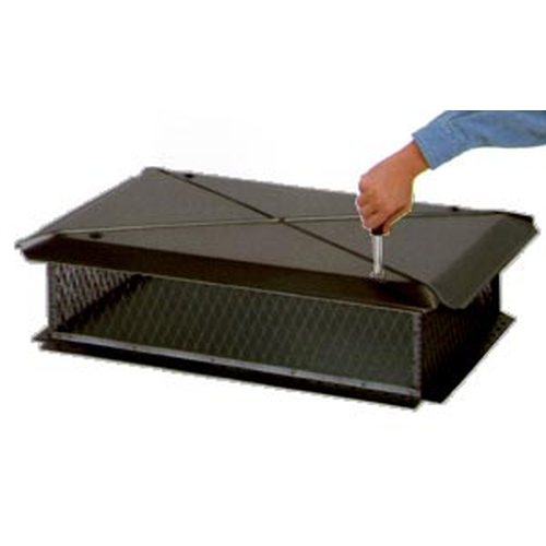 Gelco Black Metal Rain Cap Mult Rain Chimney Caps And
