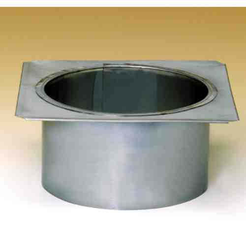 "12"" Round Lock-Top Chimney Adapter"