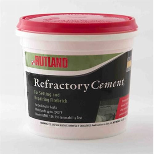 Refractory Cement 1/2 Gal.