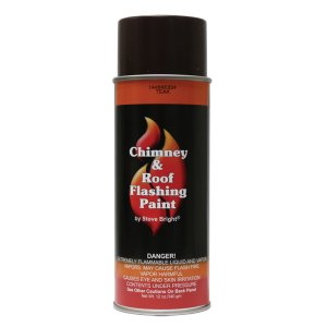 Teak SB Chimney & Roof Flashing Paint