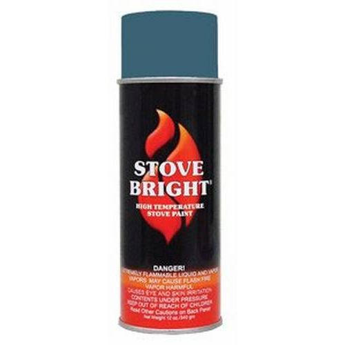 Stove Bright 1200 Degree High Temp Paint - Metallic Blue