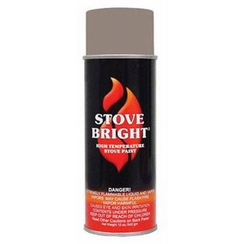 Stove Bright1200 Degree High Temp Paint - Bark Brown