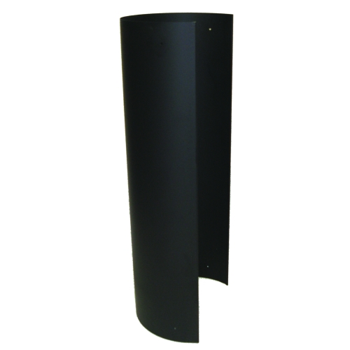 7'' Black 22GA Heat Skirt