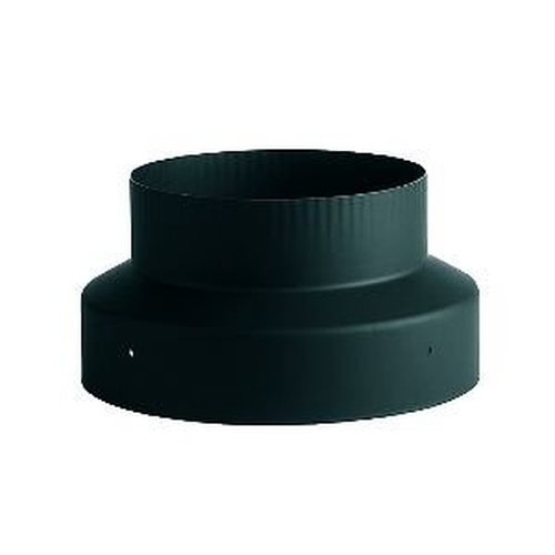 Images single double wall black pipe heatfab reducer g