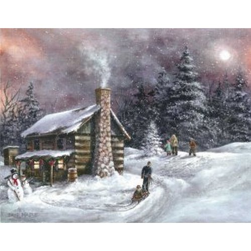 Post card - 07 Cover (Rustic Christmas)