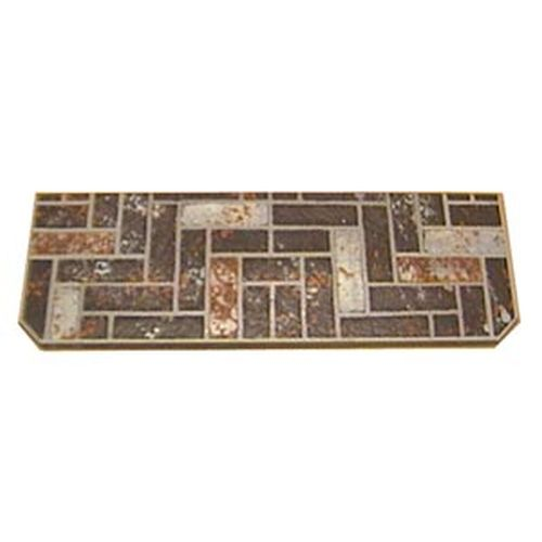 16'' x 48'' Brown Brick Stoveboard